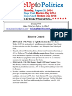 Wake Up to Politics - August 28, 2014