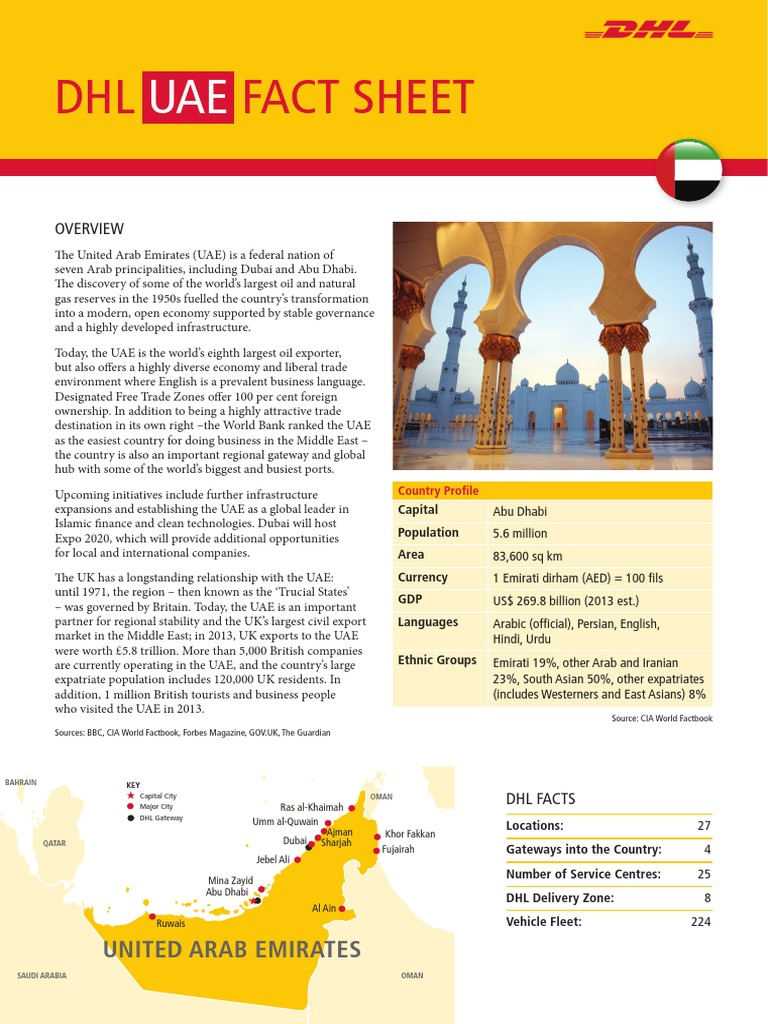 Exporting to the UAE - The DHL Fact Sheet | United Arab