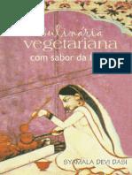 Culinária Vegetariana Com Sabor Da Índia - Syamala Devi Dasi