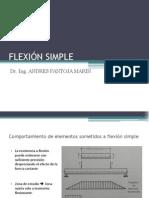 Flexión Simple