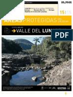 2010 Áreas Proteg de Uy. Valle Del Lunarejo. Serie de El País, 15