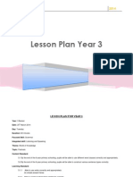 Lesson Plan for Year 3 Grammar