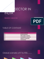 Presentation for IT in INDIA by SABITAVO DAS