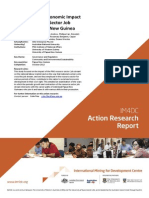 The Social and Economic Impact on the Resources Sector Job Stream in Papua New Guinea