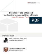Sugar 7 Developer Release Training Part3