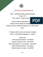 Atps de Competencias Profissionais Pronta 28 05 2014