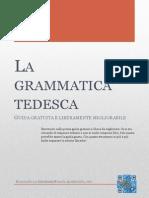 La Grammatica Tedesca (Con Vocabolario)