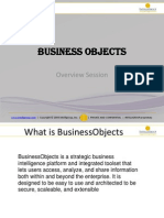Business Objects OverView Training1