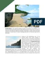 Tourism in Bato, Catanduanes - Sacahon Beach
