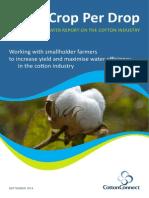 CottonConnect More Crop Per Drop