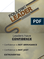 Leaders Have Confidence