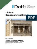 Draagconstructie dictaat