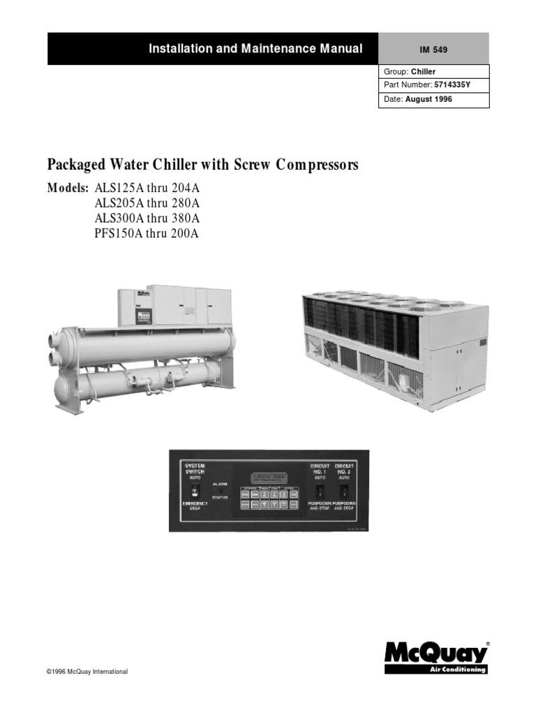 Mcquayalspfsctechnicalmanualengpdf power supply switch swarovskicordoba Image collections