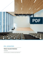 Timber Acoustic Solutions Overview