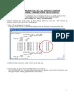 """Cara Menghitung Cut and Fill Antara 2 Kontur Dengan Program """"Land Desktop Development"""""""