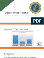 Export-Import Bank Webinar July 2014