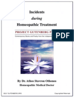 IncidentsHomeopathic Treatment