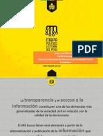 Mapa Político del Peru - Infogob