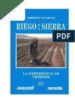 Riego en La Sierra