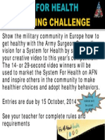 sfh marketing challenge flyer