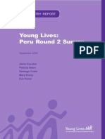Young Lives Peru Round 2 Survey Report