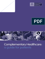 Complementary Healthcare a Guide for Patients