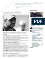 The Art of Leadership – ... Dhoni - News - BCCI.tv