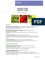 Organic Food Industry Guide