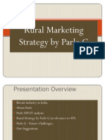 35738960 Rural Markesdting Strategy by Parle G