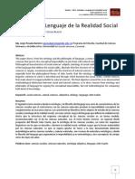 Ontología y Lenguaje de la Realidad Social