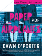 Excerpt from Paper Airplanes by By Dawn O'Porter
