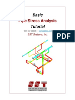 Basic Pipe Stress Analysis Tutorial