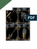 Card Dividers for Resident Evil Base Game