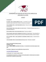 NAD Cronograma 2014