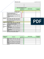 Lista de Chequeo Isoc9001
