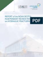 Nova Scotia independent fracking review