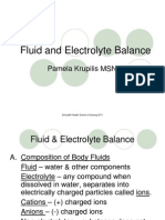 Fluid and Electrolyte Balance 2011 PAM
