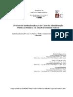 Institucionalização Da EAD_Artigo RAC_2014