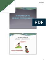 Intervención en Dífonos Consonánticos (1)