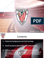 Athletic Club Bilbao Study Visit 2013