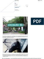 22 Orchard Road Shopping