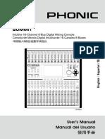 Phonic Summit Manual