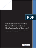 North Carolina Pension Fund Forensic Investigation Report