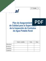 Plan de Aseguramiento de Calidad Para La Supervisión de La Inspección de Contratos APR