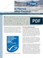About the Marine Stewardship Council