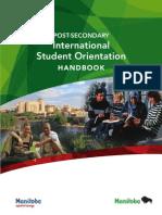International Student Orientation Handbook