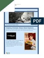 dyslexia project legislation newsletter