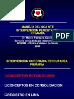 II CME 04 12 Sindrome Coronario Agudo Dr Pastrana