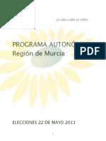 Programa Autonómico 2011