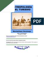 Antropología Del Turismo